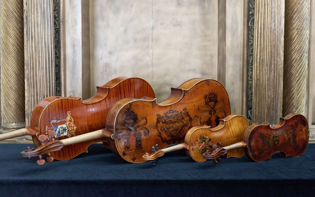「奇美聖誕周末」首度規劃「皇家名琴」限定展出及獨家演奏。  奇美館 提供