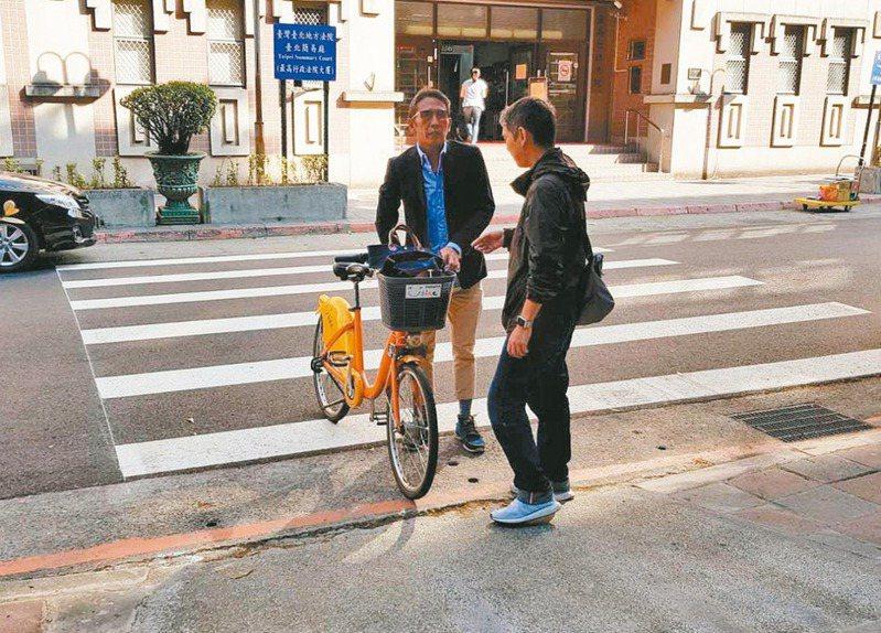 鈕承澤為性侵案6度出庭。 記者王聖藜/攝影