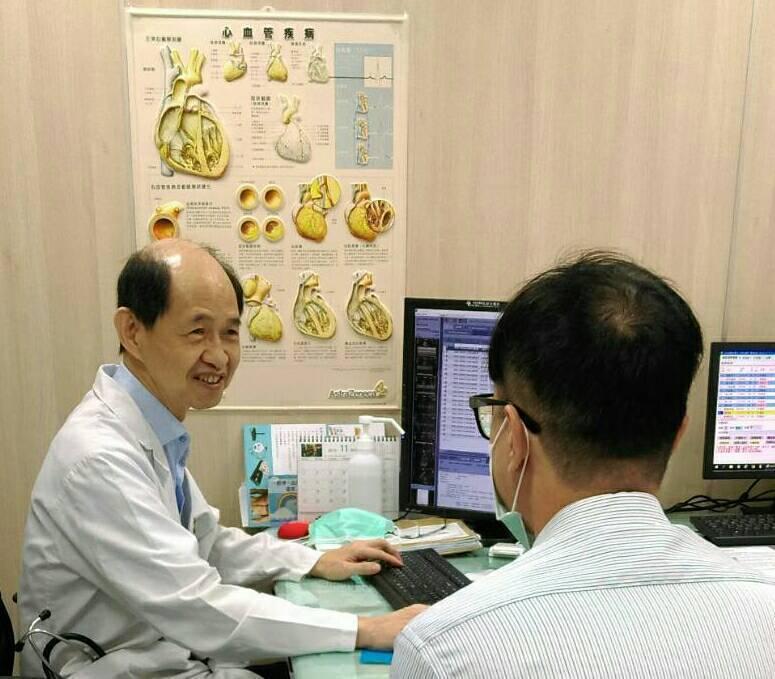蔡坤炎醫師指出,上週立冬前五天以來,每天急救一位因心肌梗塞掛急診的民眾! 阮綜合...