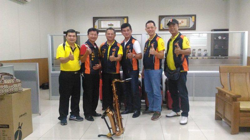台南市愛薩客音樂協會,由愛好薩克斯風的同好組成。 圖/黃宣翰攝影