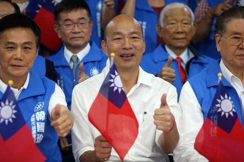 韓國瑜的各種歧視言論,本質是黨國霸權文化的遺緒。 圖/聯合報系資料照