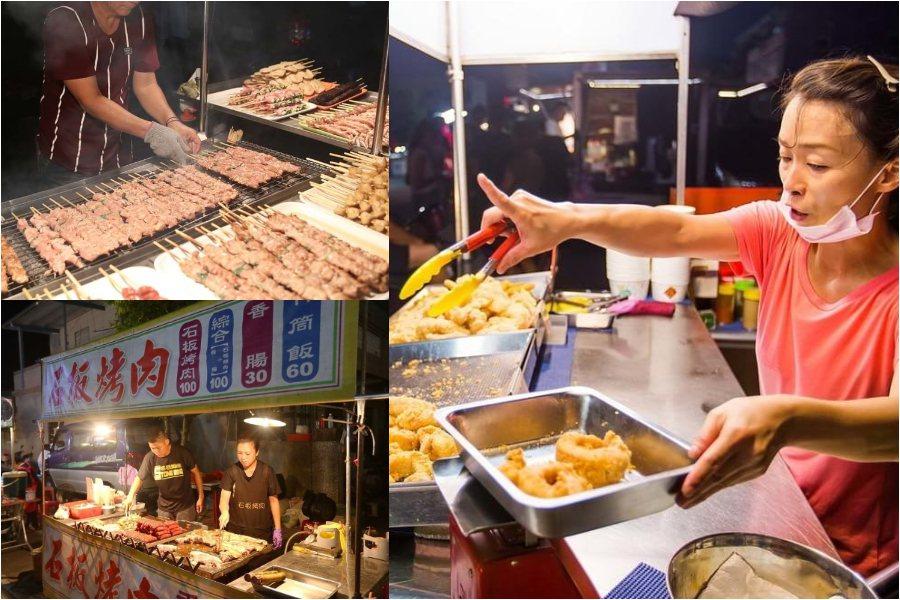 礁溪觀光夜市將有111個小吃美食等攤位,每週五、六、日共三天可逛。圖/宜蘭清溝夜...