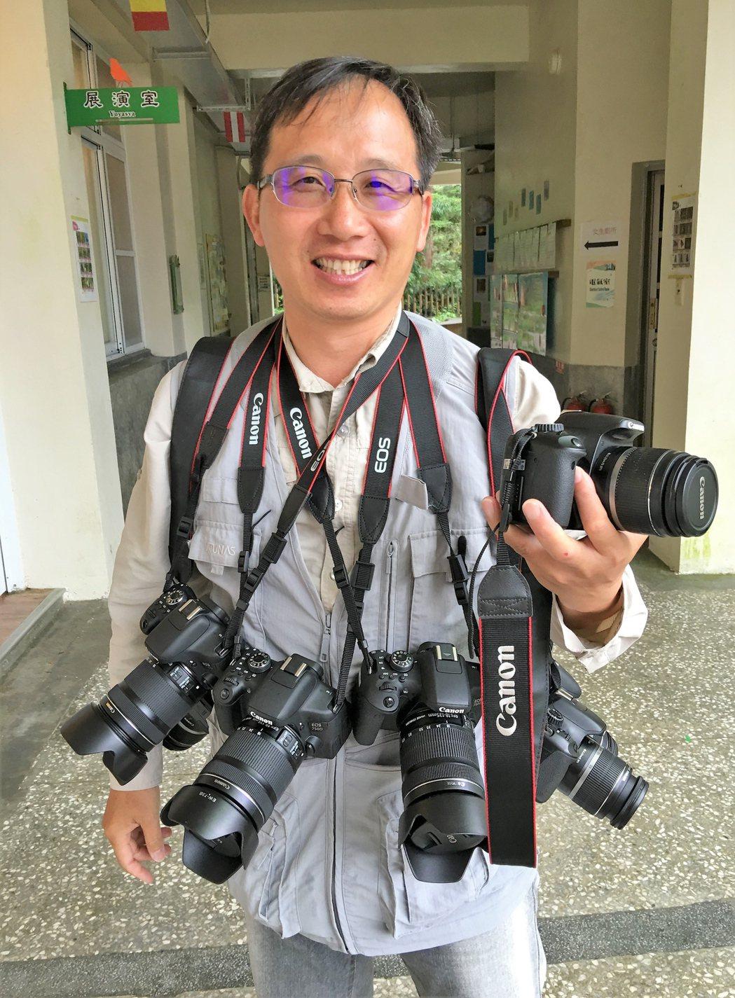 黃源明攝影紀錄阿里山30多年,退休後花更多時間享受攝影。 圖/黃源明提供