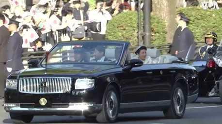 日本天皇御用車款 全新Toyota Century Convertible德仁天皇即位遊行首亮相!