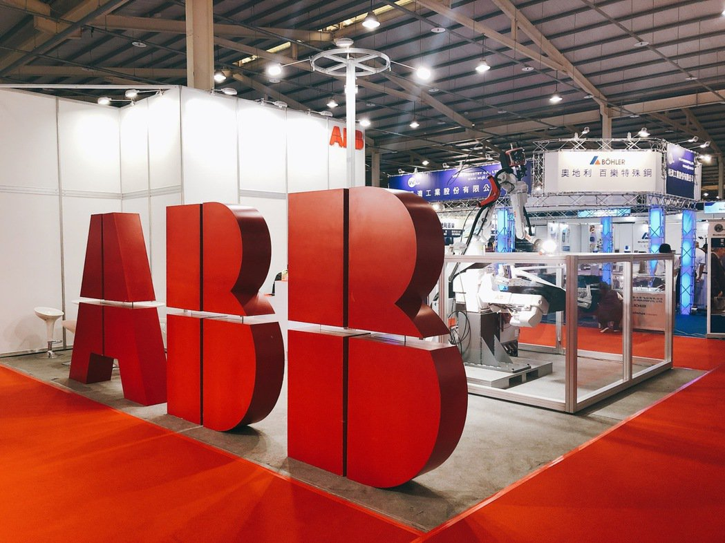 ABB 機器人任台灣金屬材料暨精密加工設備展策略合作夥伴。ABB/提供