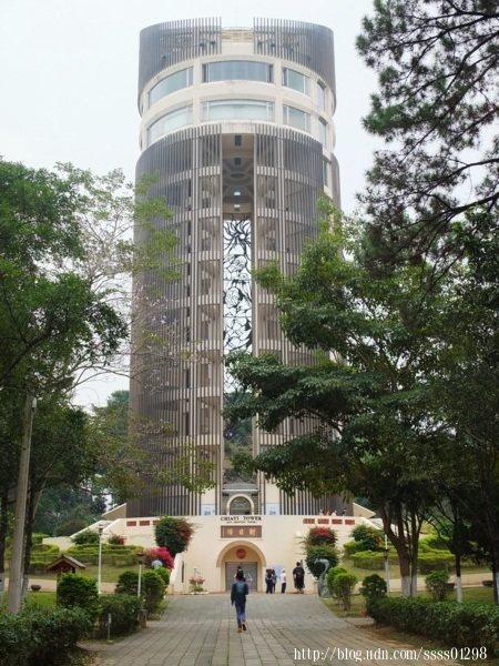 射日塔就位於嘉義公園內,屬嘉義文化地標