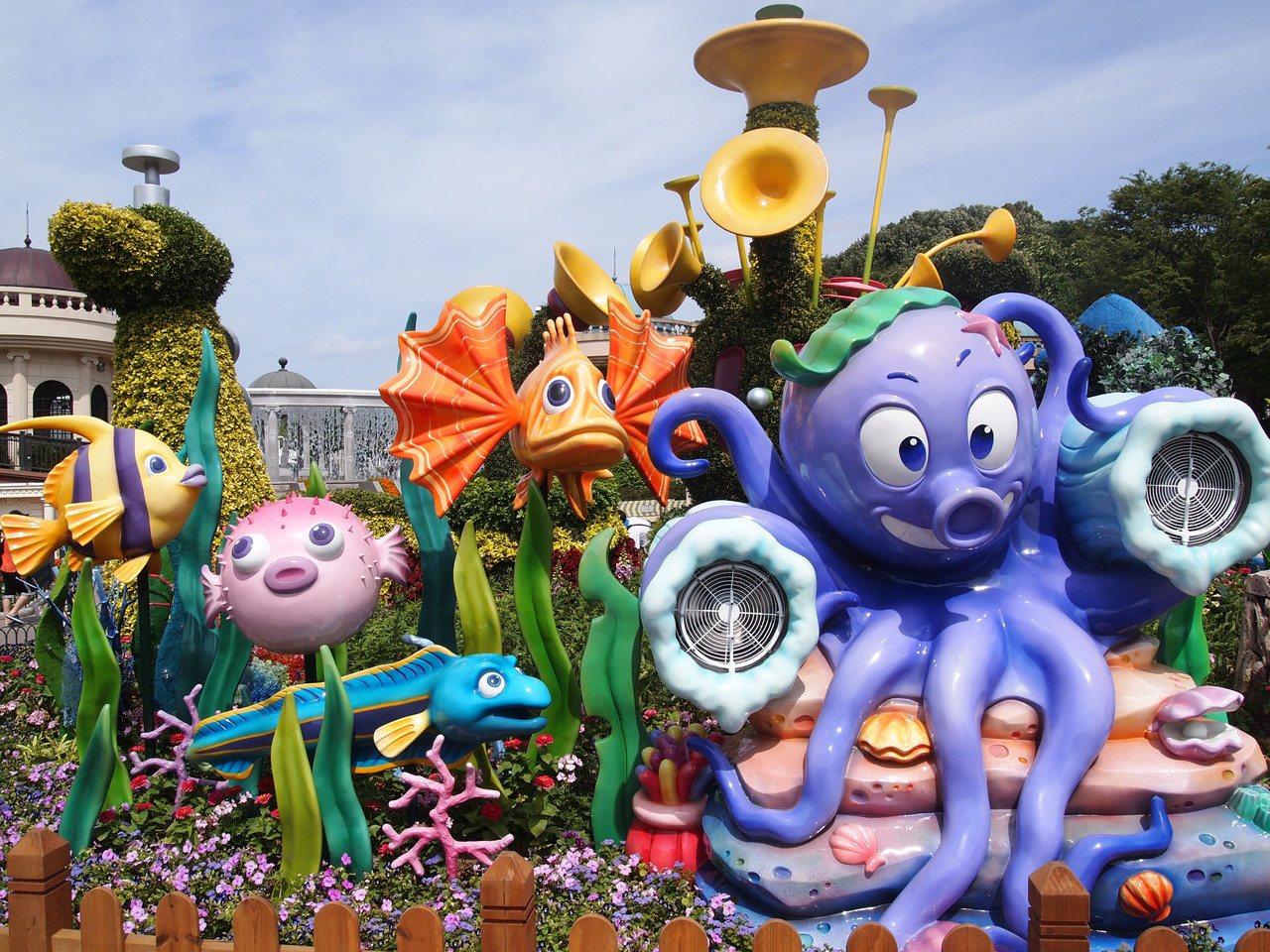 愛寶樂園是韓國最受歡迎的主題樂園。© 京畿道觀光公社提供