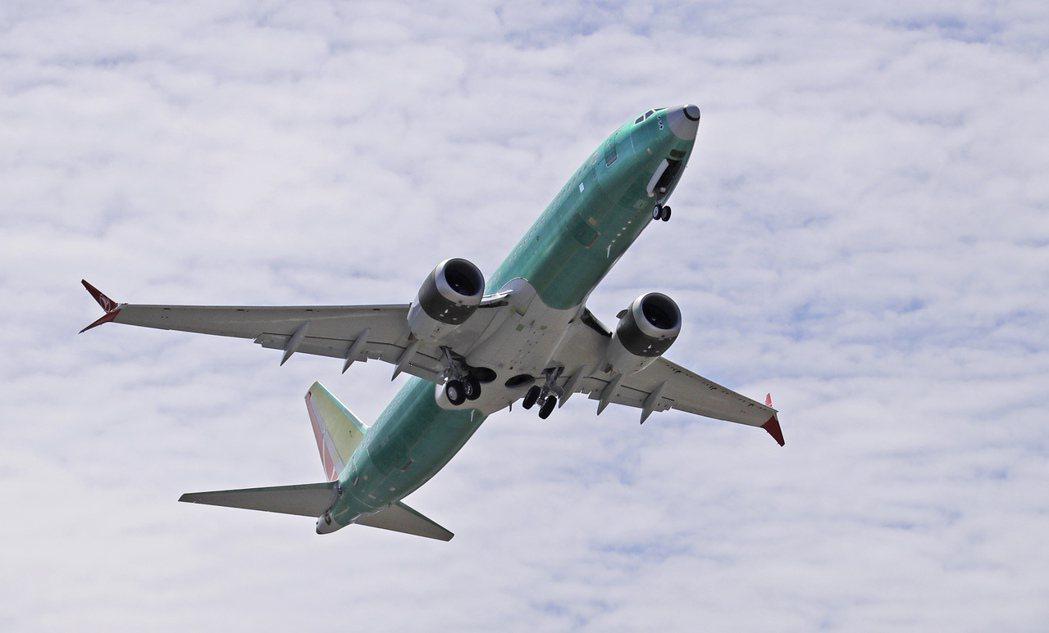 波音公布737 Max復飛的細節,股價大漲。 美聯社