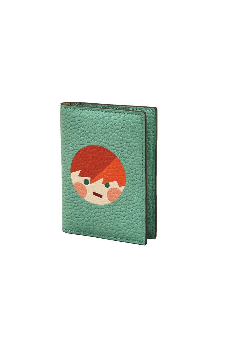 三浦太郎Mosaïque對開萬用卡夾(Harry),16,500元。圖/MOYN...