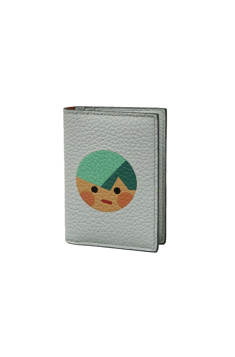 三浦太郎Mosaïque對開萬用卡夾(Fred),16,500元。圖/MOYNA...