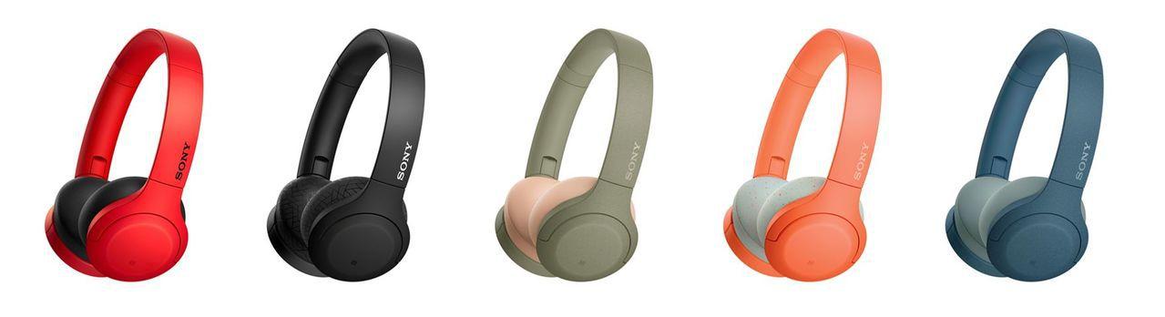 全新Sony h.ear無線藍牙耳罩式耳機新上市。 圖/Sony提供
