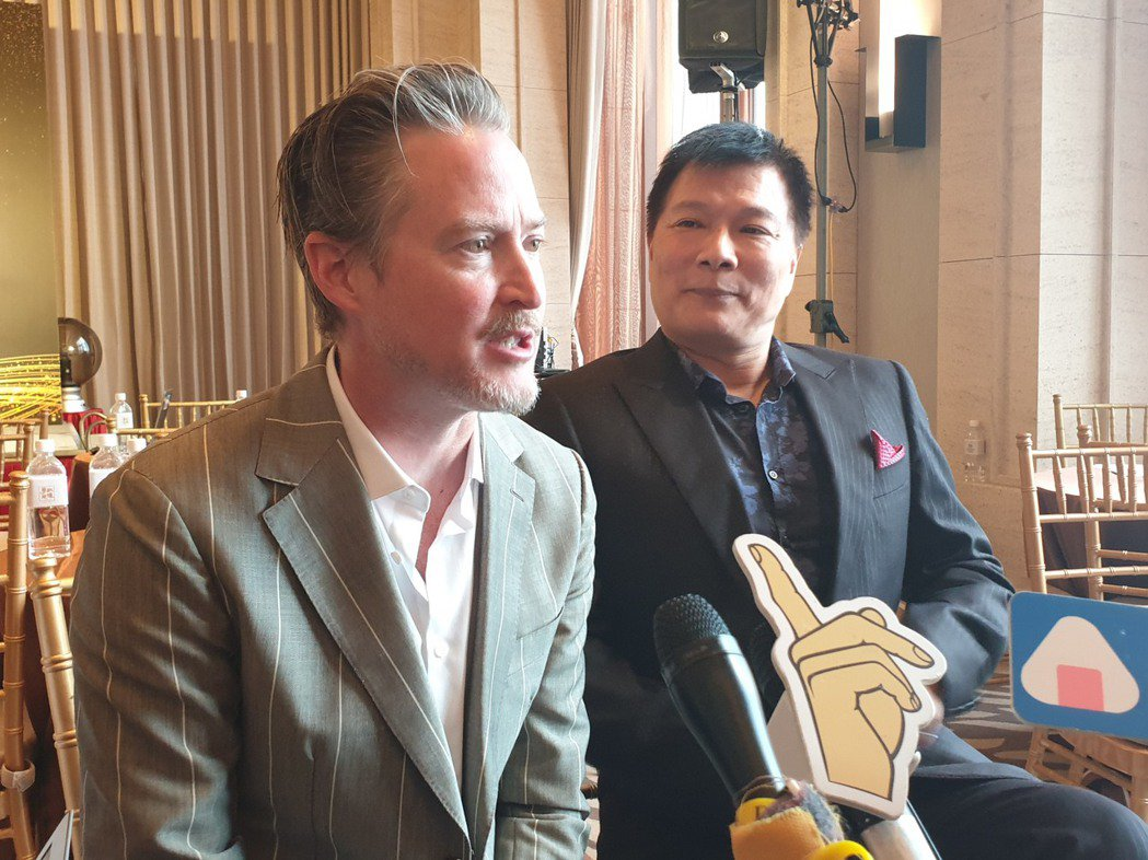 夏克立與蔡詩萍都是白臉爸爸。記者李姿瑩/攝影
