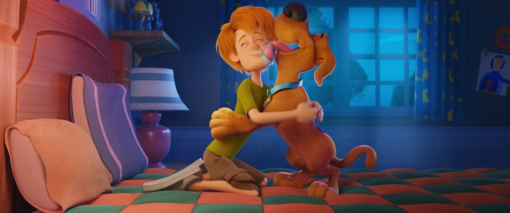 「狗狗史酷比!」。圖/華納兄弟提供