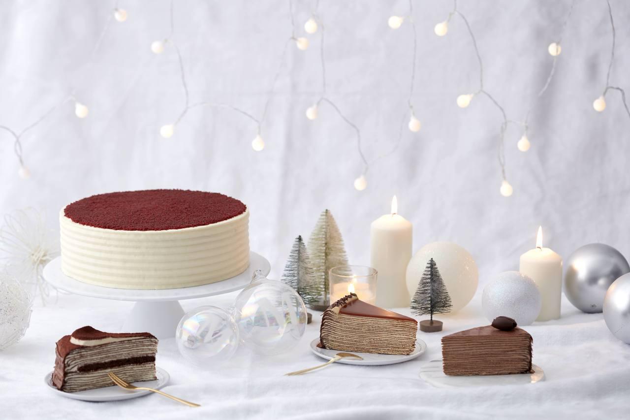 Lady M推出4款聖誕節甜點。圖/Lady M提供