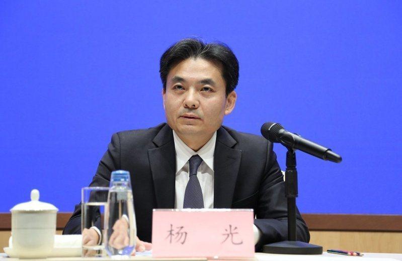 大陸國務院港澳事務辦公室發言人楊光。中新社