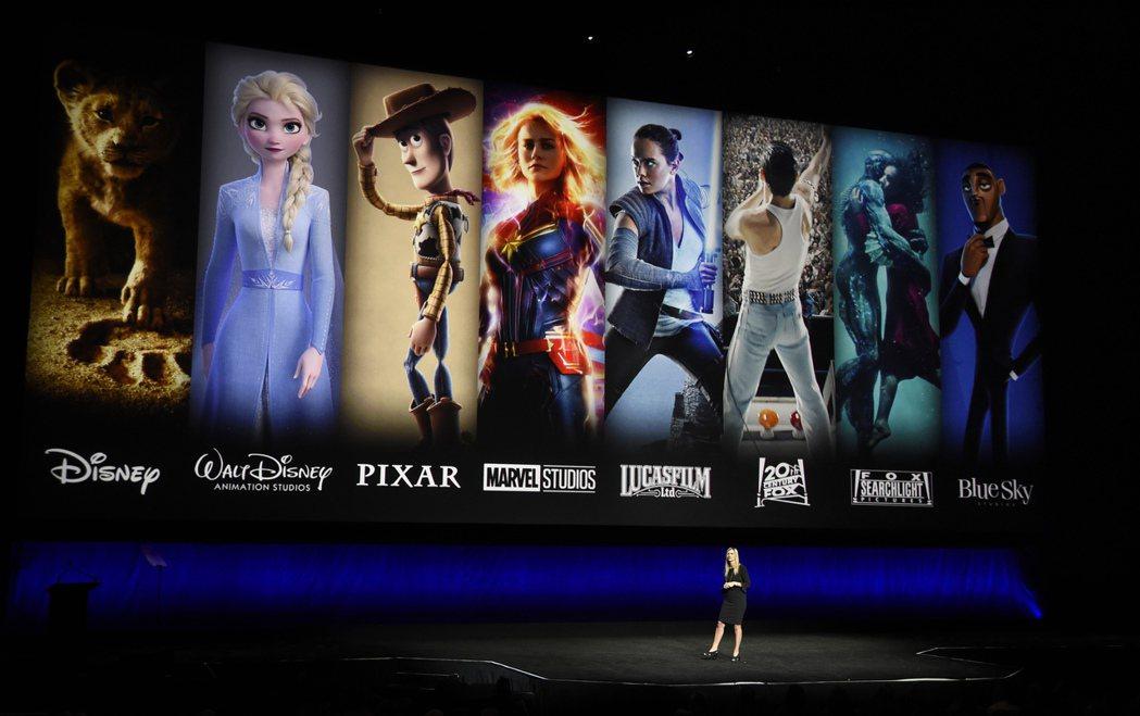 迪士尼串流平台Disney+於12日正式在美國、加拿大與荷蘭上線。   美聯社