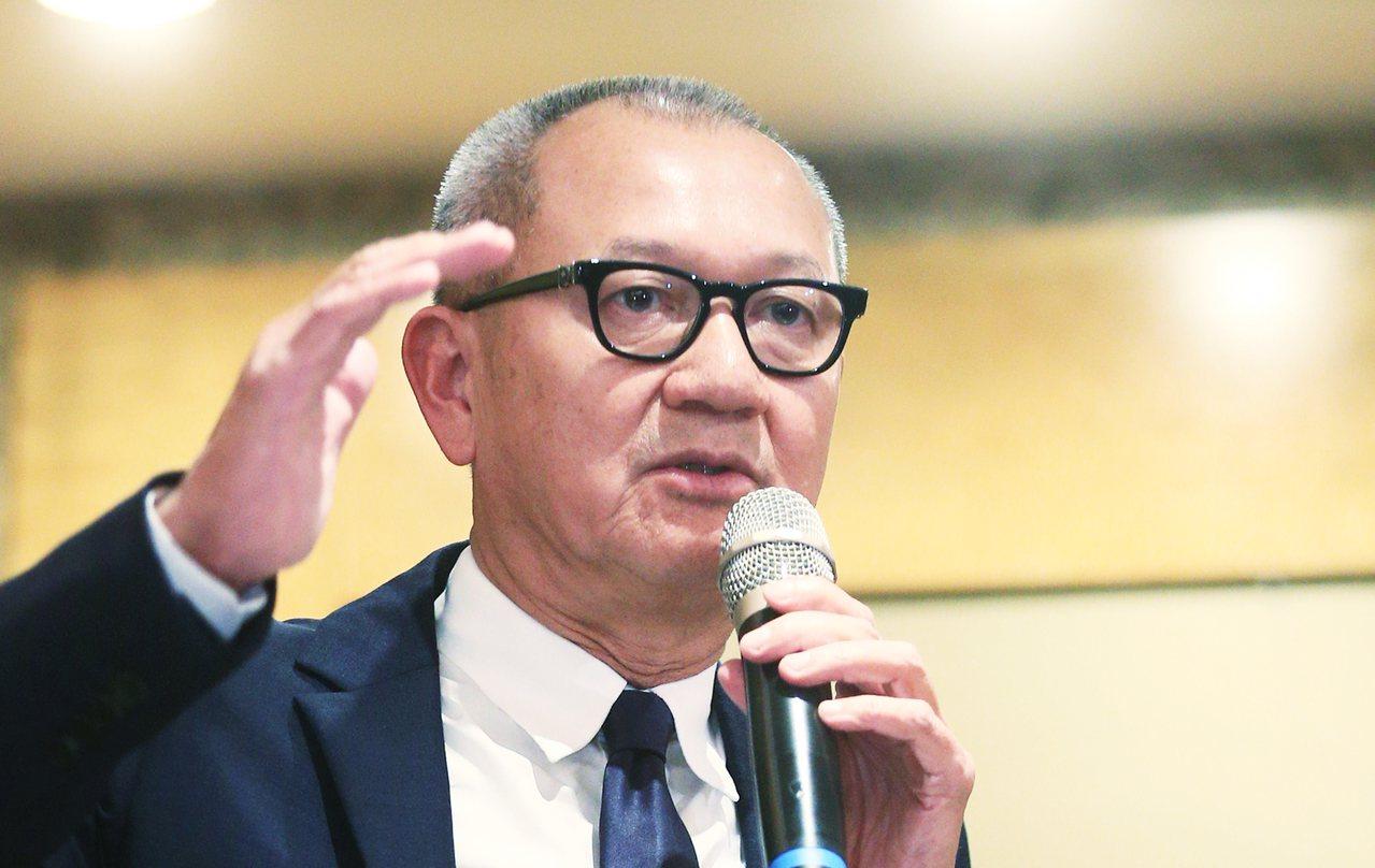 國巨董事長陳泰銘。記者陳正興/攝影