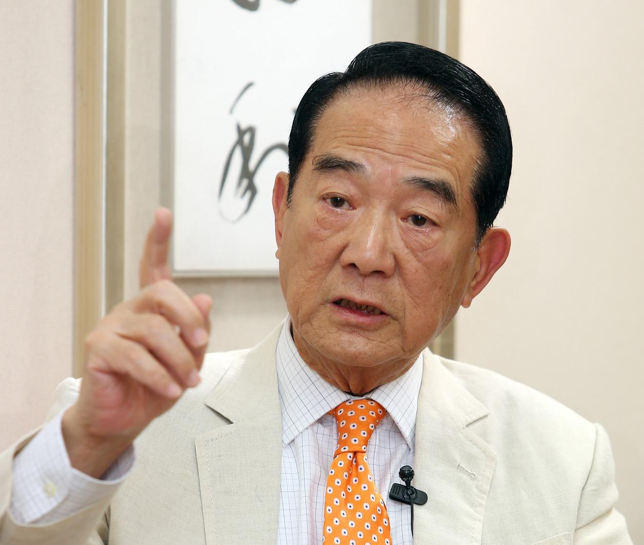 親民黨主席宋楚瑜。圖/聯合報系資料照片