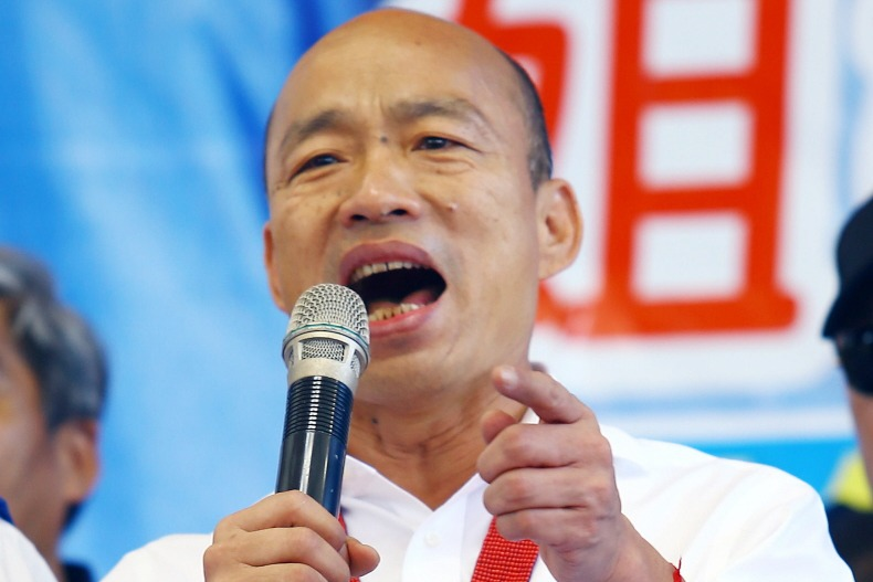 國民黨總統參選人韓國瑜。 聯合報系資料照片/記者杜建重攝影