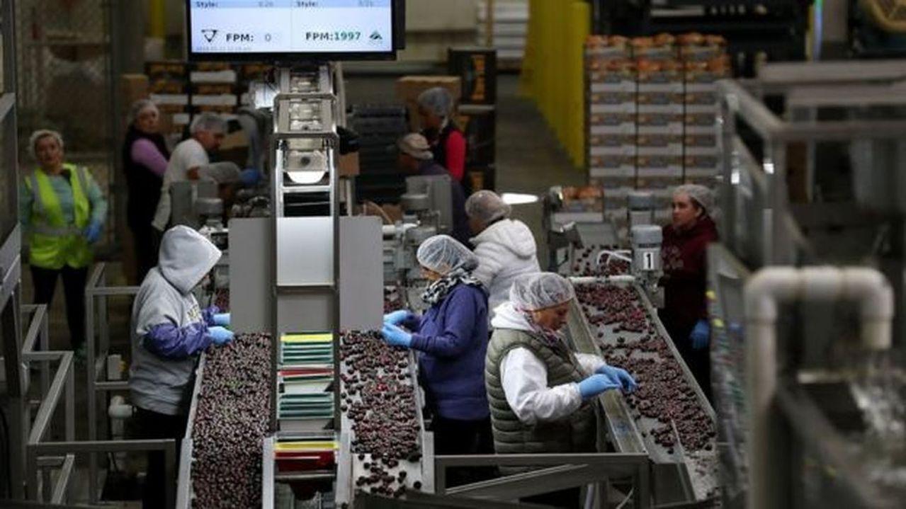 中國對美方的報復性關稅下,美國水果的稅率經多次調整大多已升至50%,櫻桃和蘋果等...