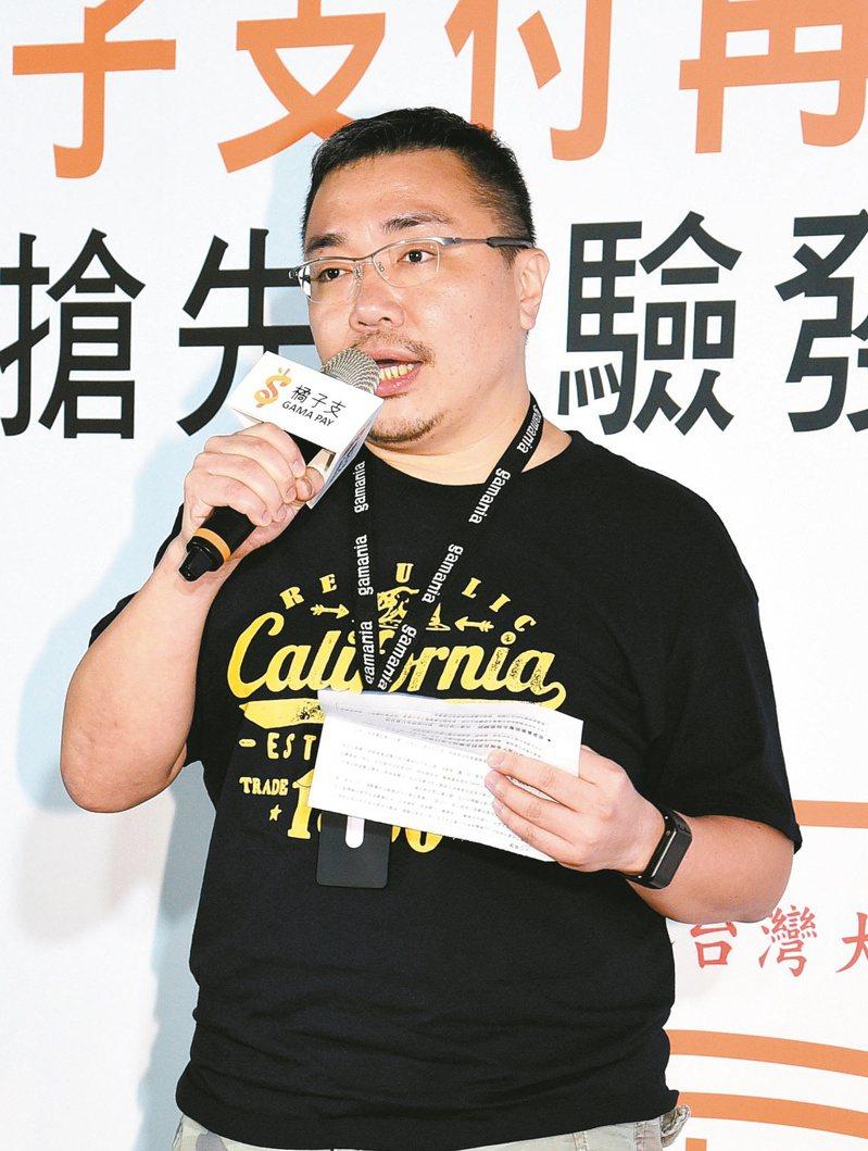 橘子董事長劉柏園 。圖/聯合報系資料片