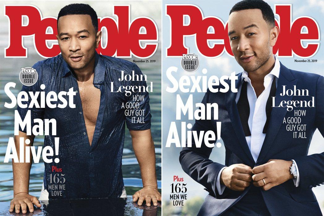 約翰傳奇(John Legend),獲「時人雜誌」(People)評選為本年度「