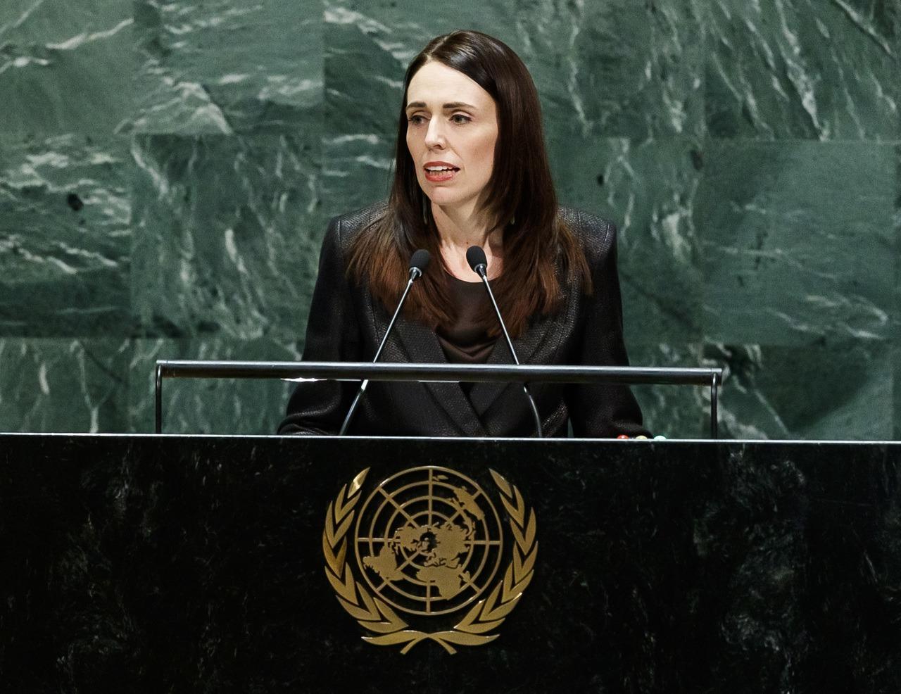 紐西蘭總理阿爾登。 歐新社