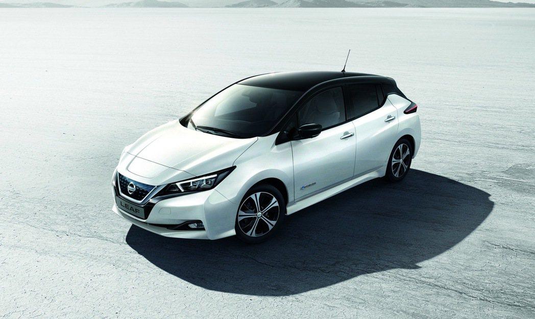 NISSAN LEAF累積最暢銷電動車的地位將被取代。 圖/裕隆日產提供