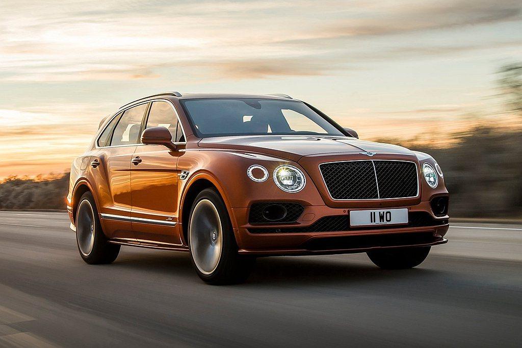 擁有全球最速SUV頭銜的Bentley Bentayga Speed也霸氣現身,...