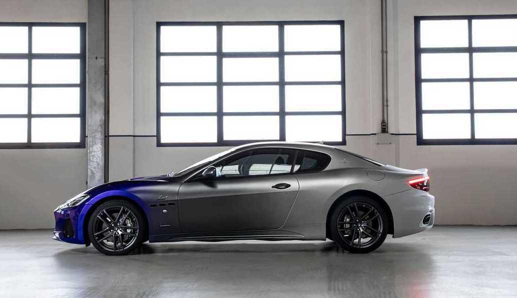 漸層塗裝讓GranTurismo Zéda別具意義。 摘自Maserati
