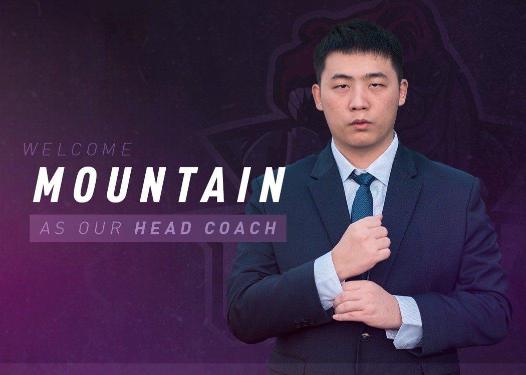 G-Rex打野選手Mountain(薛兆鴻)將擔任新賽季的主教練/圖片截自G-R...