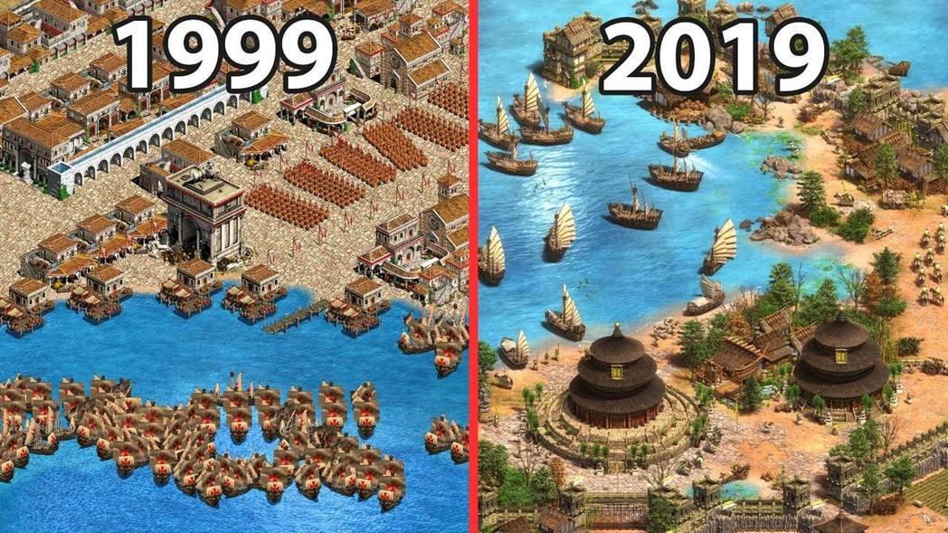 1999 年原版 vs 2019 年決定版,畫面明顯進步不少。
