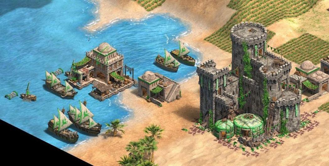 庫曼(《世紀帝國2:決定版》遊戲截圖)