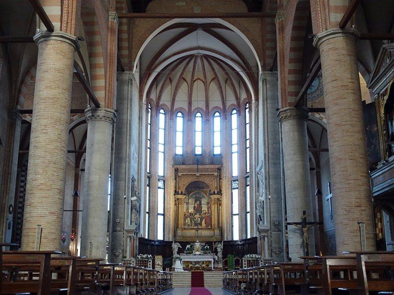 Treviso聖尼古羅教堂。 圖/張芳瑜攝影