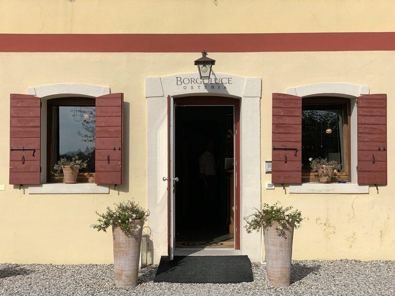 義大利Osteria Borgoluce餐廳。 圖/張芳瑜攝影