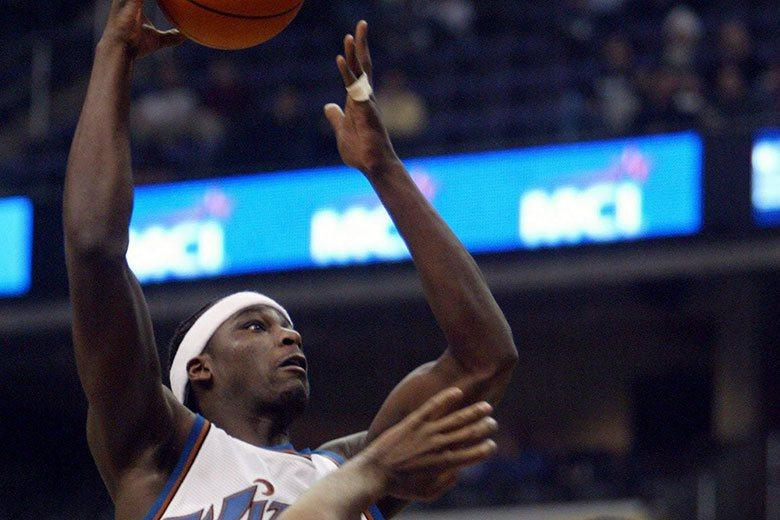 2001年的NBA選秀狀元是由巫師隊挑走的布朗,現在還有人記得他是誰嗎? 歐新社...