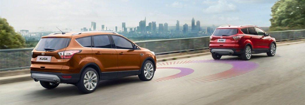 遠離駕駛習慣不佳的車輛-ACC主動式定速巡航調節系統及ACS主動式都會行車防護系...