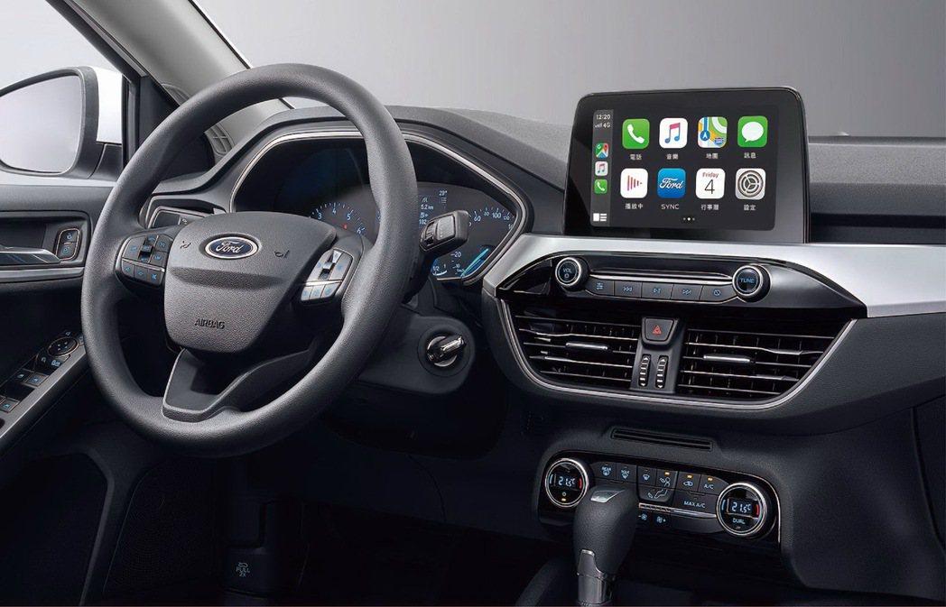讓心情隨音樂律動-Ford SYNC3 娛樂通訊整合系統能夠支援Apple Ca...