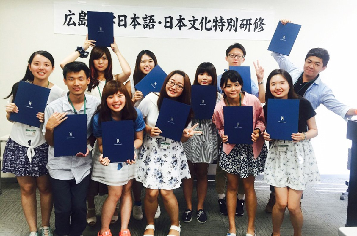 中央大學學生前往日本廣島大學進行海外學習,提升國際移動力與競爭力。 圖/中央大學...