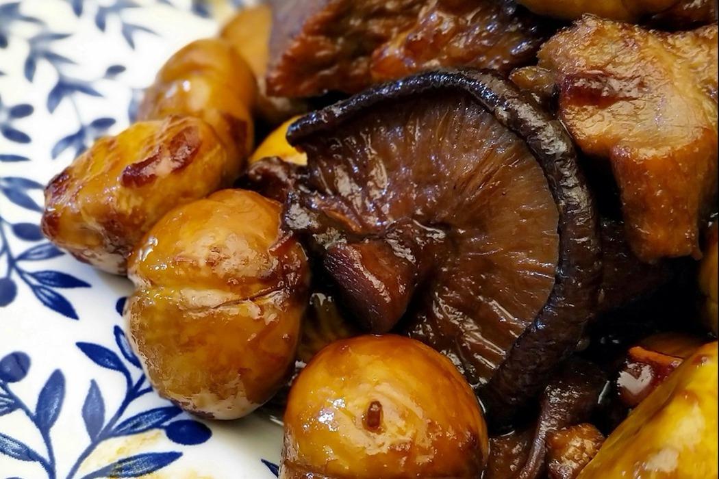 食譜/板栗紅燒肉,香糯低脂又好吃