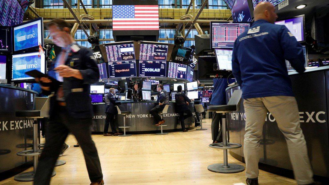 美國總統川普的談話抑制美股周二漲勢。  (路透)