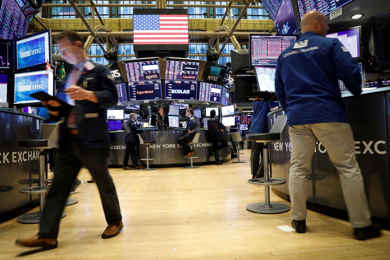 美國總統川普的談話抑制美股周二漲勢。 路透