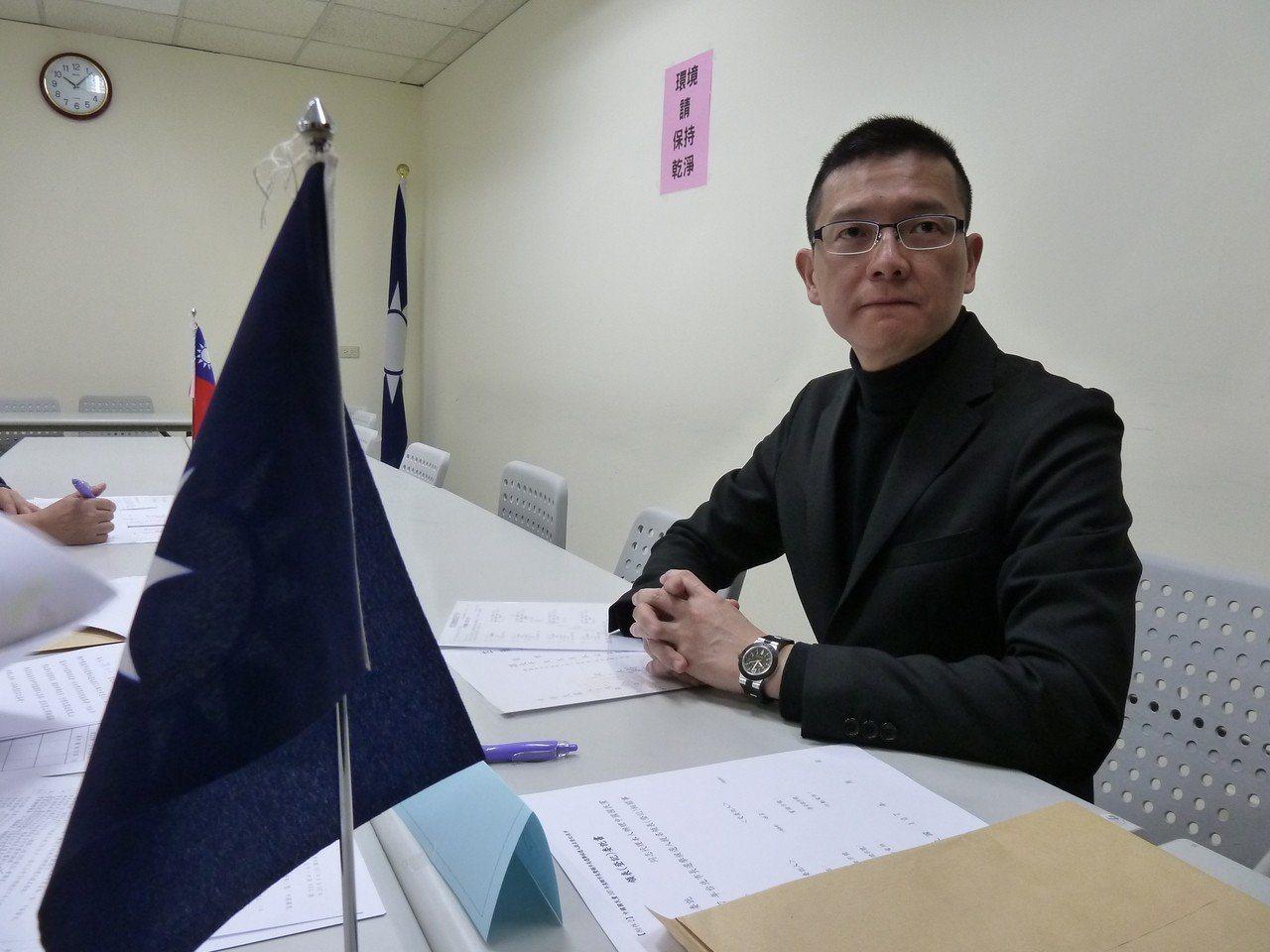 韓國瑜競選總部副執行長孫大千。報系資料照片