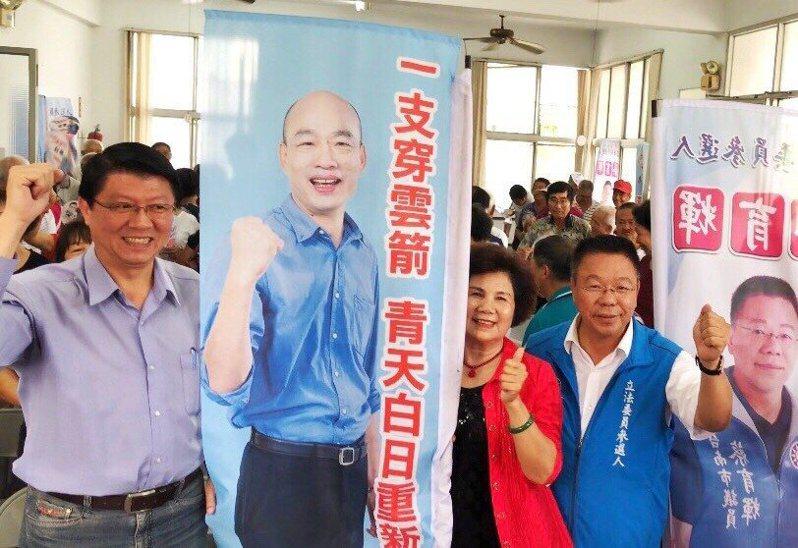 國民黨不分區名單出爐,謝龍介排在第12名,黃暐瀚痛批,有綁架韓粉的感覺,爛透了。圖/本報系資料照