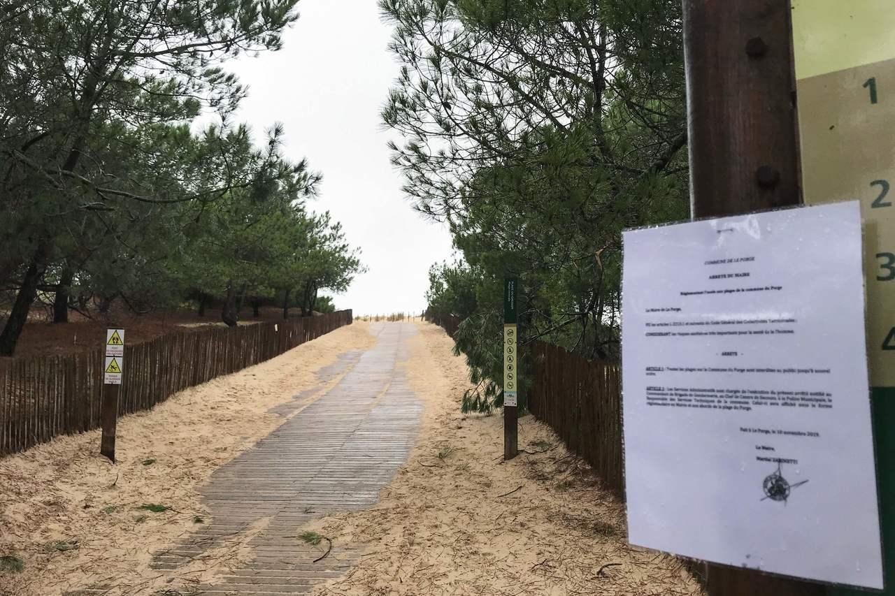 將近900公斤高純度的古柯鹼被沖上法國海岸。法新社