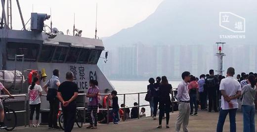 香港局勢再度陷入混亂,傳出香港水警(水警總區)疑協助中大大陸學生撤離,必須有大陸...