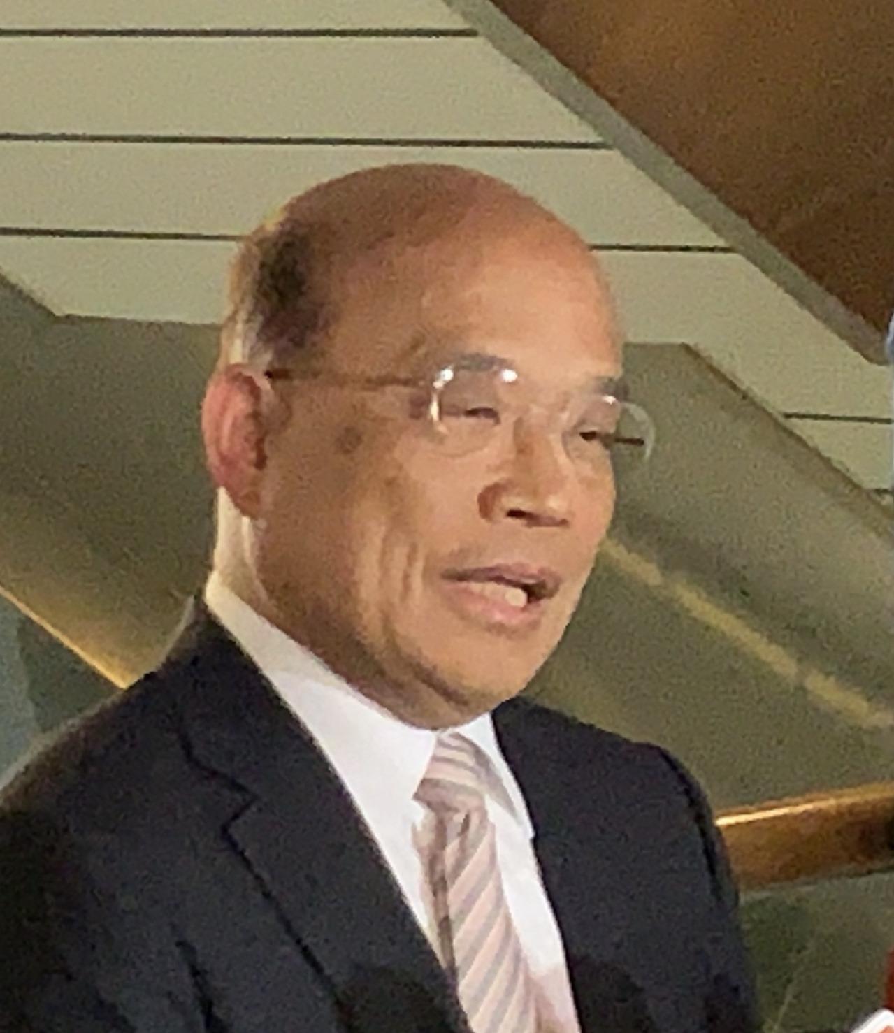 行政院長蘇貞昌今天下午出席108年行政院模範公務人員頒獎典禮。記者林河名/攝影