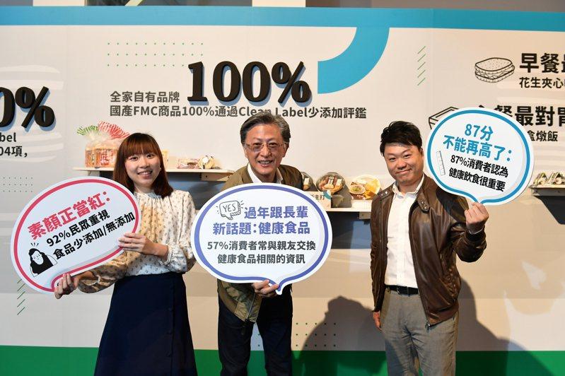 台灣邁入後食安時代,飲食習慣從各種補充營養的「食物加法」轉為追求少油、少鹽、少糖、少添加的「食物減法」。圖/全家便利商店提供