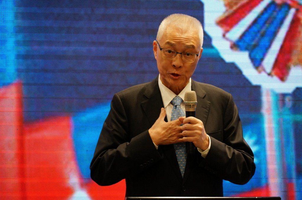 國民黨主席吳敦義。 聯合報系資料照片/記者林伯驊攝影