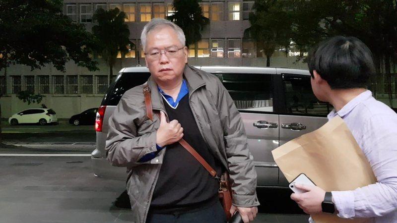 中纖副總劉永達涉潤寅詐貸,遭調查局移送北檢複訊 。記者張宏業/攝影